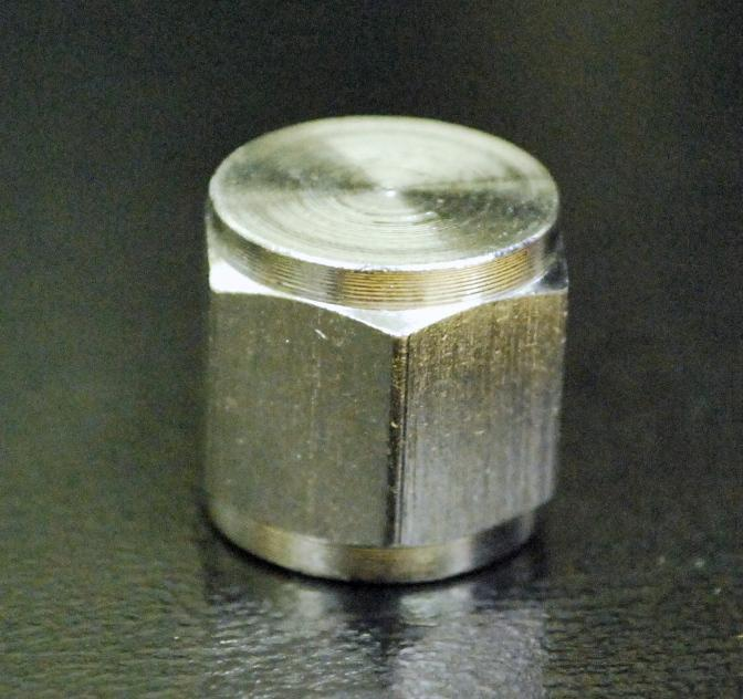 FFL Cap, Stainless Steel