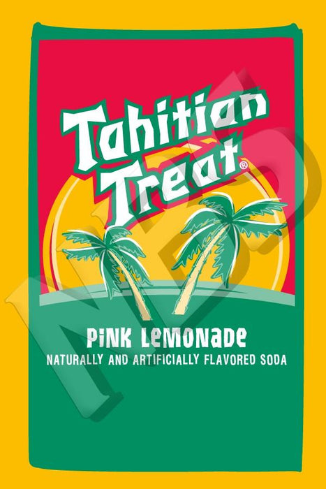 "Tahitian Treat Pink Lemonade UF-1 Valve Decal, VI04641922 2"" x 2 7/8"""