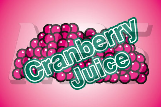 Generic Cranberry Juice UF1 Back of Valve Decal