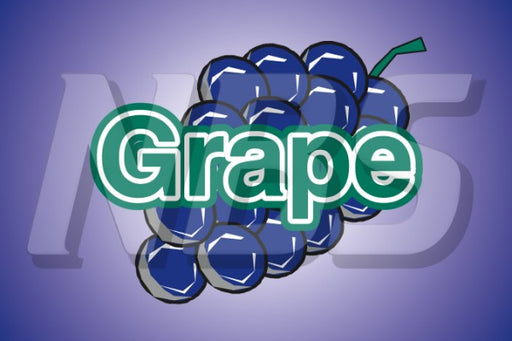Generic Grape Juice UF1 Back of Valve Decal