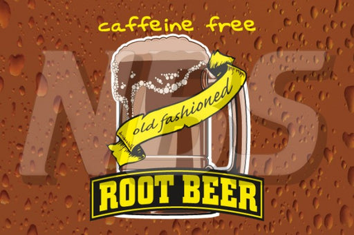 Generic Root Beer Old Fashioned Mug UF1 Back of Valve Decal