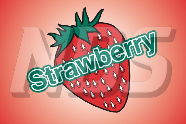 Generic Strawberry UF1 Back of Valve Decal