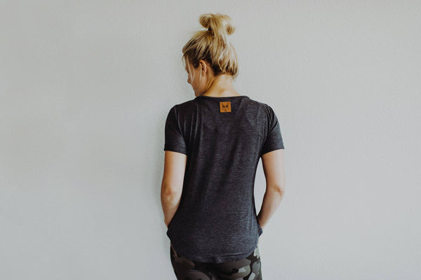 Women's Favorite Tee - Charcoal