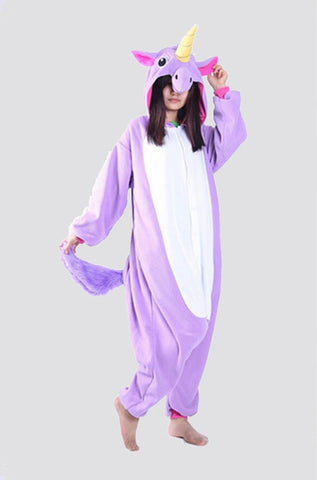 Purple Unicorn Onesie | Happy Comforts