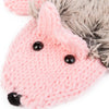 Lovable Hedgehog Knitted Mittens | Happy Comforts