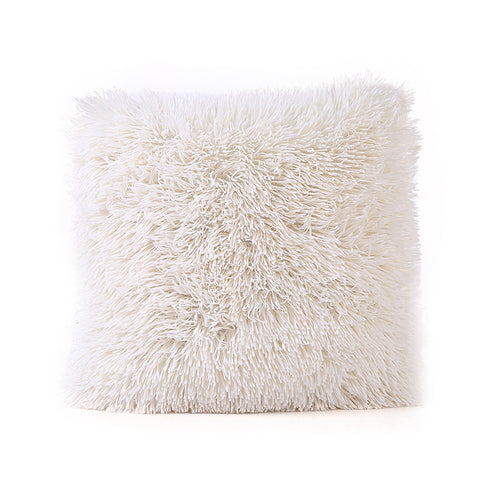 Plush Throw Pillow | Happy Comforts