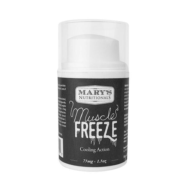 Mary's Nutritionals - Muscle Freeze 1.5oz - Sunshine Hemp Co.