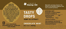 Tasty Drops - Chocolate Mint 1oz - Sunshine Hemp Co.
