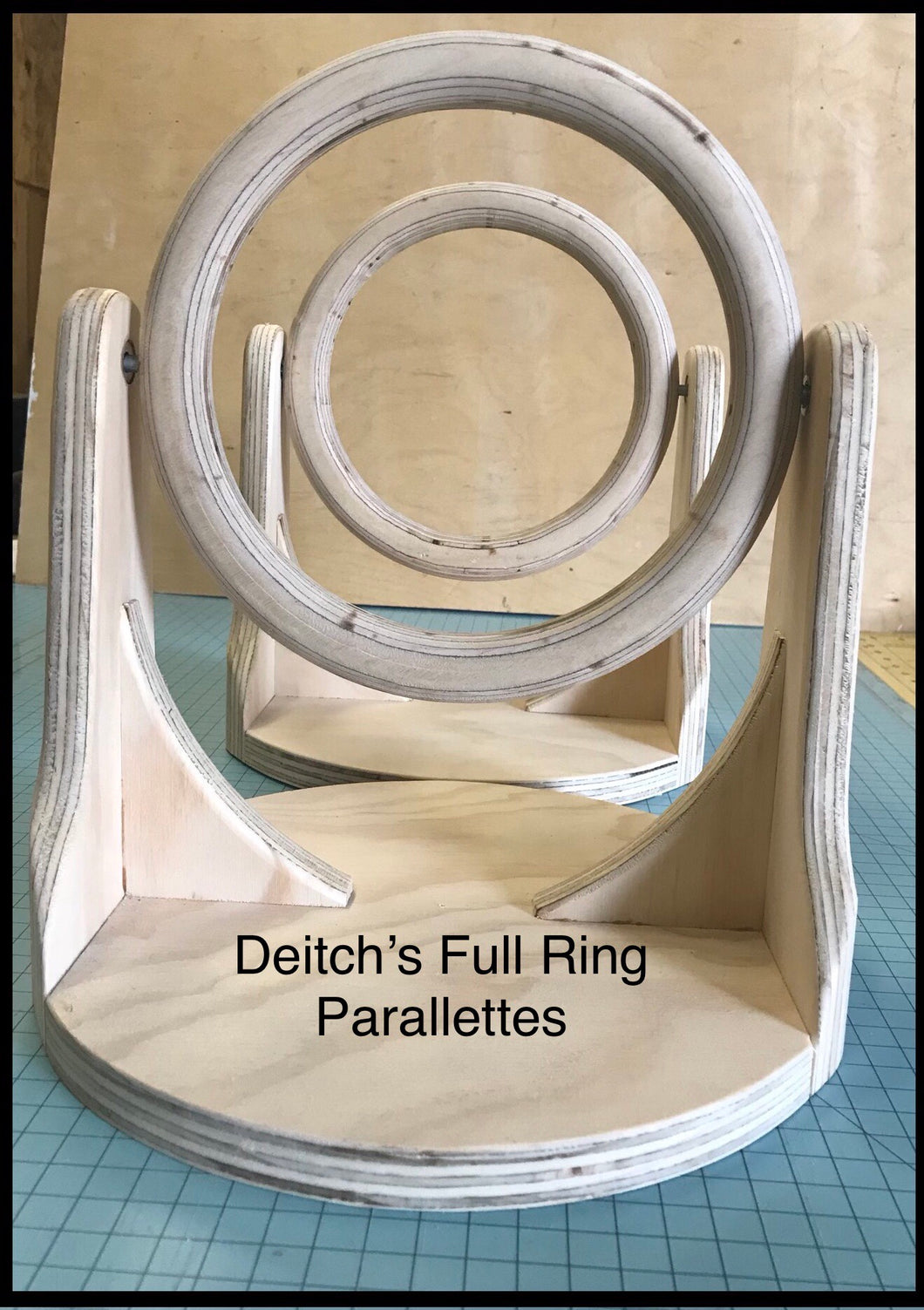 Deitch's Full Ring Parallettes
