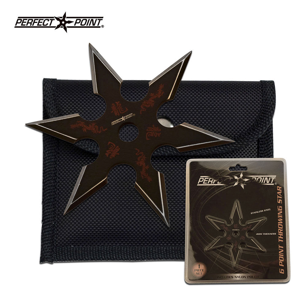 Dragon 6 Point Throwing Star - ELITE OP KNIVES