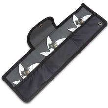 Three-Piece Ninja Warrior Throwing Star Set And Pouch - ELITE OP KNIVES