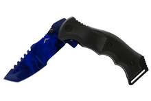 BLUE HUNTSMAN POCKET KNIFE - ELITE OP KNIVES