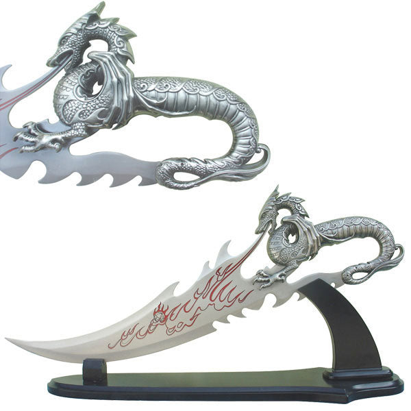 FANTASY DRAGON DAGGER SHORT SWORD