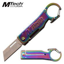 Mini Pocket Knife with Carabiner and Bottle Opener - ELITE OP KNIVES