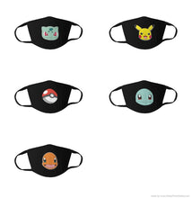 Pokemon Starter Masks 5 Piece Set - ELITE OP KNIVES