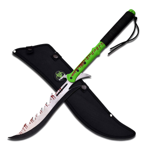 Zombie Hunting Machete - ELITE OP KNIVES