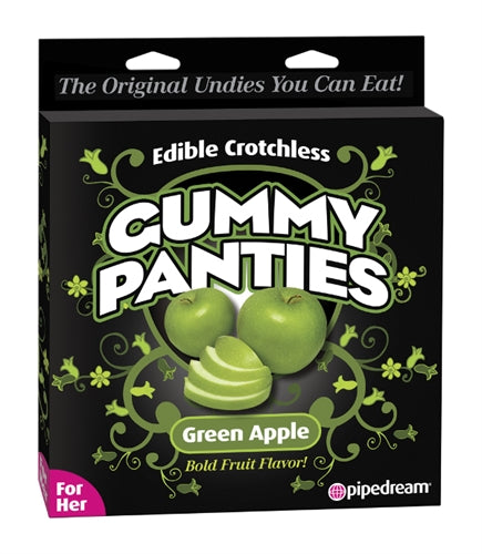 Gummy Panties - for Her - Green Apple PD7507-65