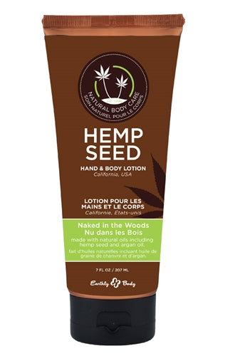 Hemp Seed Hand & Body Lotion - 7 Fl. Oz. - Naked in the Woods EB-HSV022T