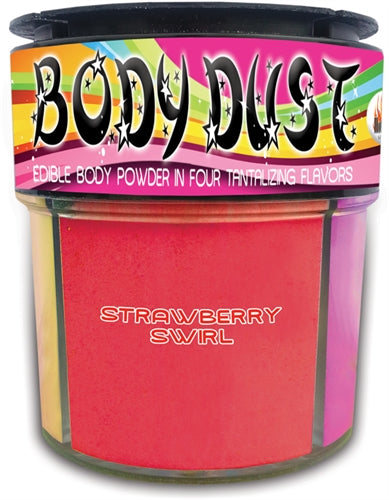 Body Dust 4 Assorted Flavors HTP2859