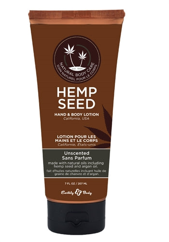 Hemp Seed Hand & Body Lotion - 7 Fl. Oz. - Unscented EB-HSV008T
