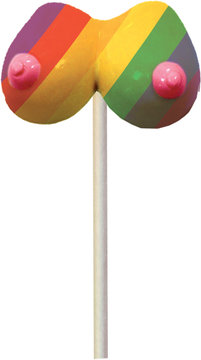 Rainbow Boobie Pops - 1.48 Oz. HTP3020
