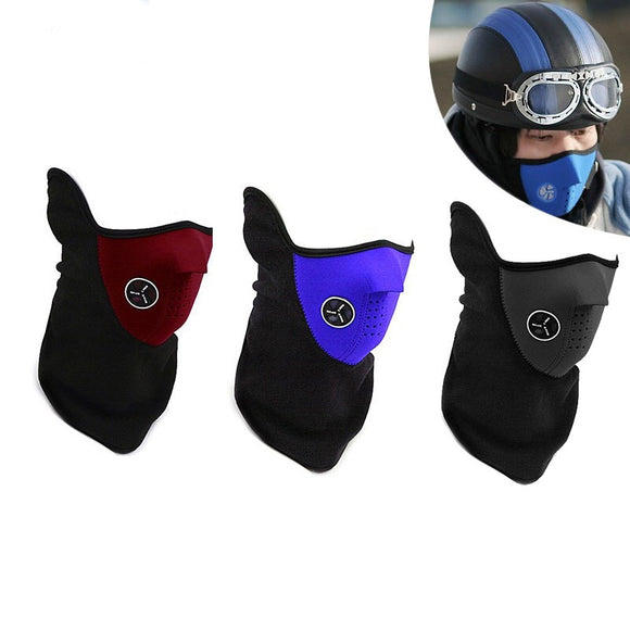 Bobby Dz Bike Motorcycle Ski Snowboard Sport Neck Warmer Face Mask Winter Outdoor Protective Gear