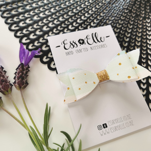 RTS - Ombre Watercolour Bow Clip