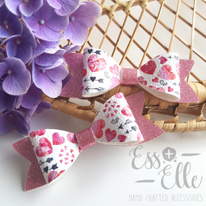 Watercolour Love - Clips & Headbands