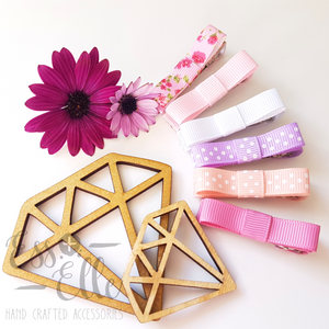 All Sorts (Pink) - Ribbon Clip Set