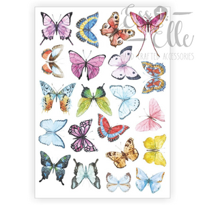 Butterflies - Temporary Tattoos