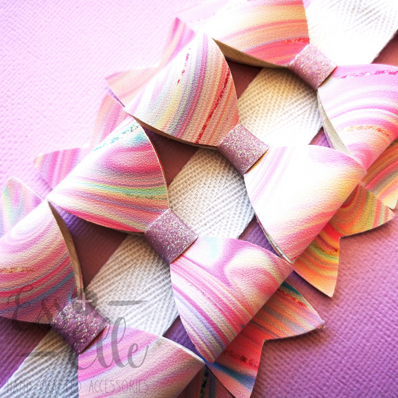 Candy Swirl - Headband and Clips