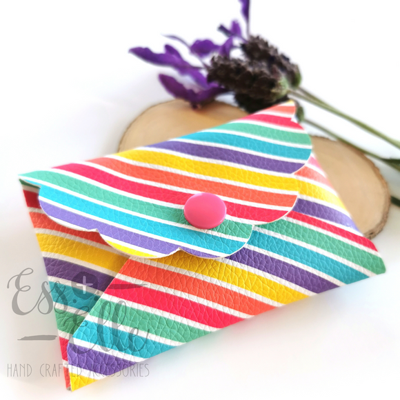 Coin Purse - Rainbow Stripe