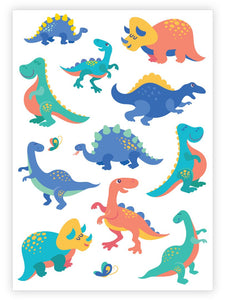 Cute Dino - Temporary Tattoos