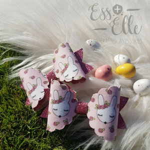 Cottontail - Single Clip or Headband