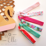 Elastic Hair Ties - Set of 4