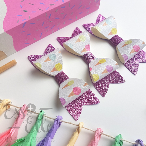 Icecream Cones - Clips & Headbands