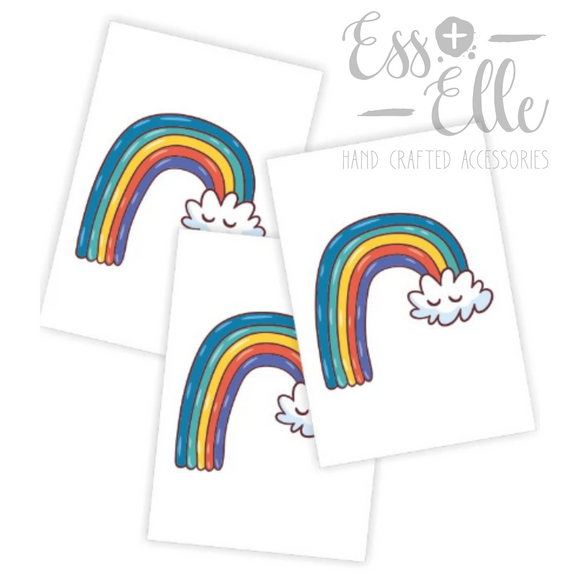 Rainbow - Ribbon Clip Set