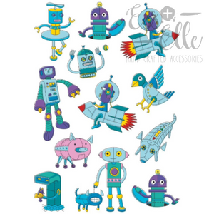 Robots - Temporary Tattoos