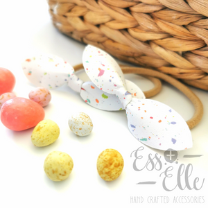 Speckled Egg Knotties - Hair Tie Pairs