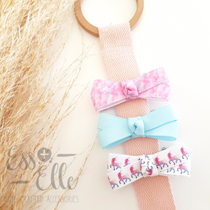 Ribbon Knot Trio - Unicorn