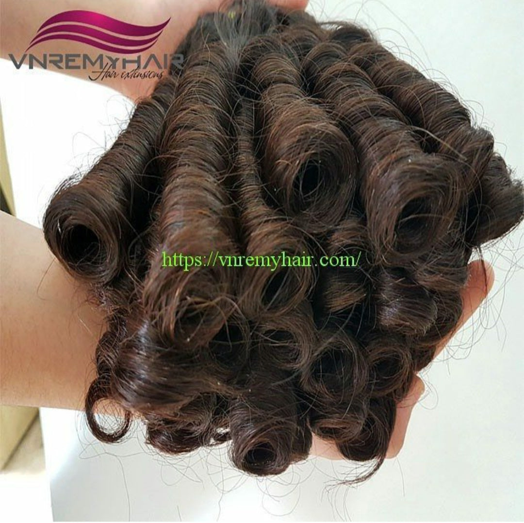 What is the natural curly weave?