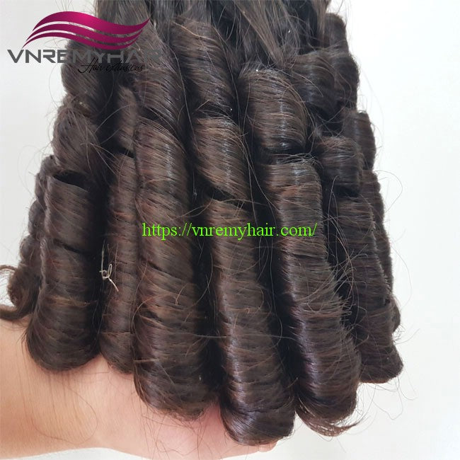 "12"" DOUBLE DRAWN FUNMI LOOSE CURLY"