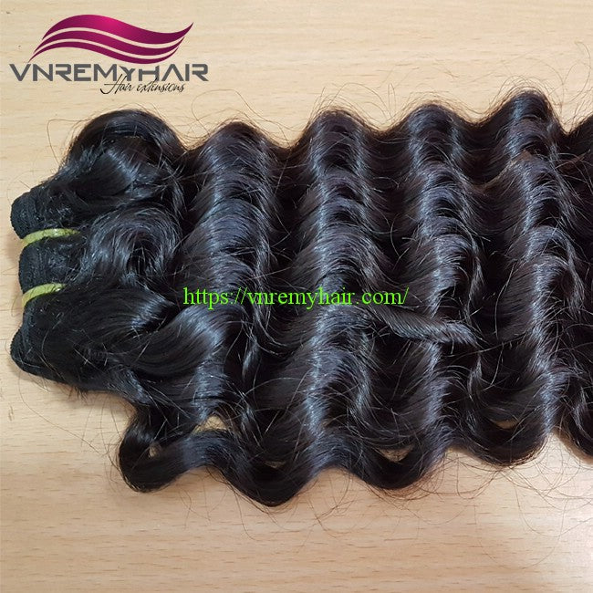 "20"" DOUBLE DRAWN DEEP WAVY"