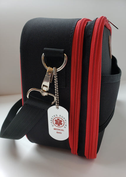 Medical Bag Tag with ball chain