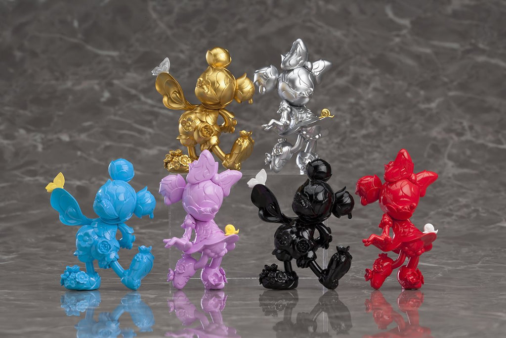 MICKEY MOUSE & MINNIE MOUSE 90TH ANNIVERSARY EDITION - BLIND BOX FIGURE SET - JAMES JEAN × GOOD SMILE COMPANY