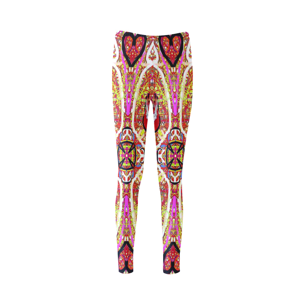 Thleudron Women's New York Cassandra Women's Leggings (Model L01)