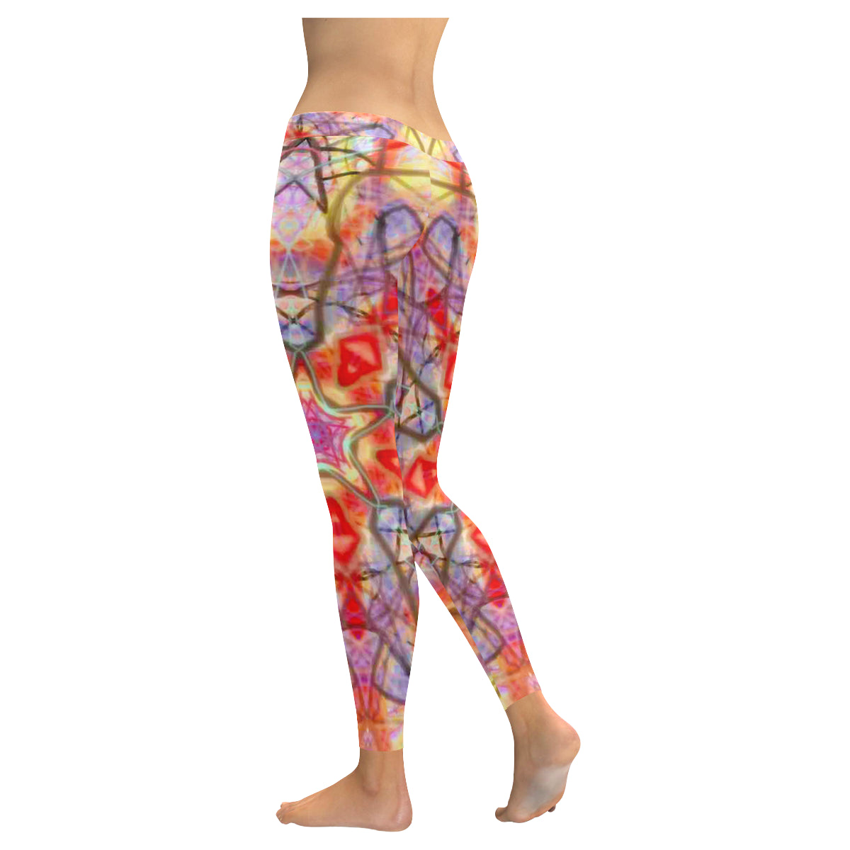 Thleudron Eidos Low Rise Leggings (Invisible Stitch) (Model L05) - Thleudron