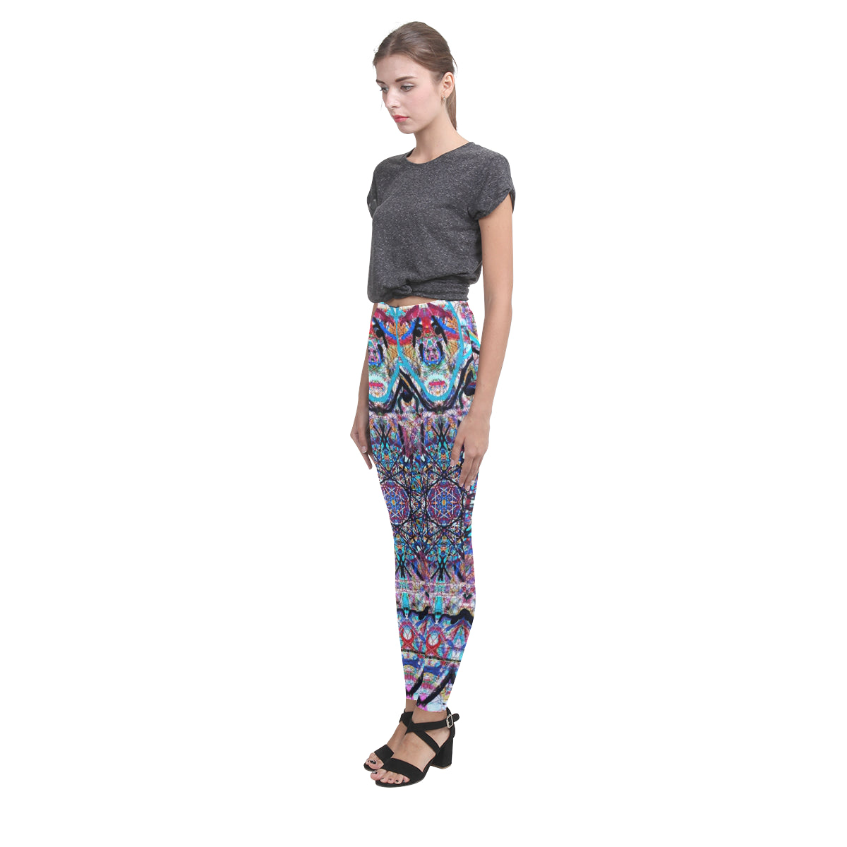Thleudron Women's Dream Catcher Cassandra Women's Leggings (Model L01) - Thleudron