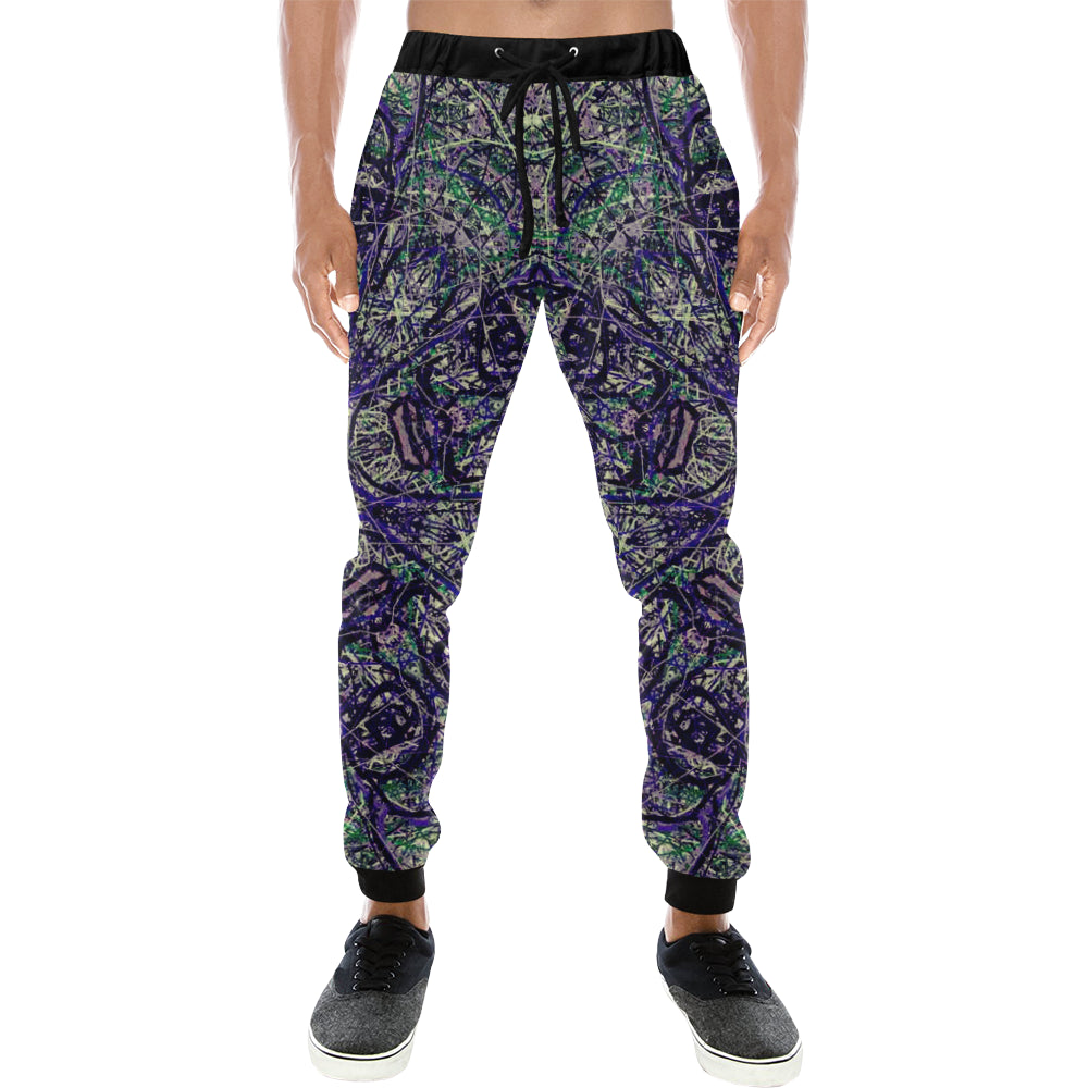 Thleudron Ibis Men's All Over Print Sweatpants (Model L11)
