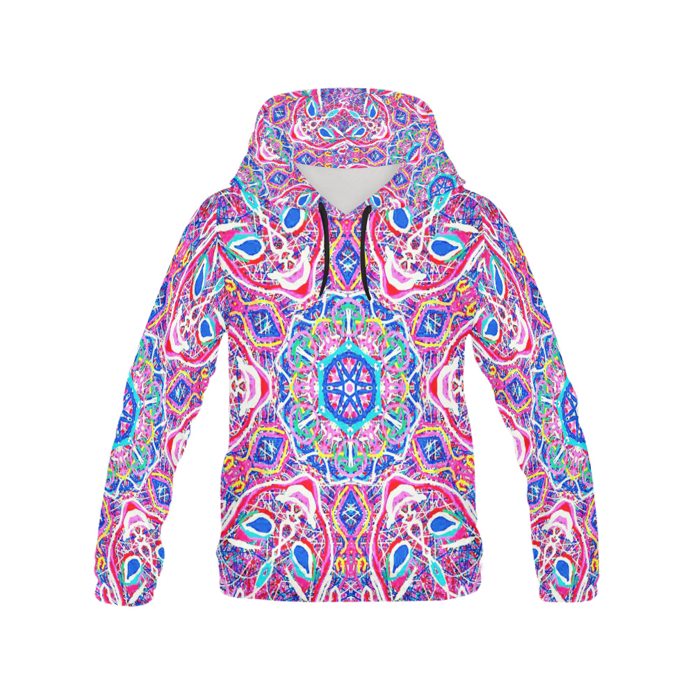 Thleudron Women's Venice All Over Print Hoodie for Women (USA Size) (Model H13)